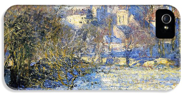 Frost IPhone 5 Case by Claude Monet