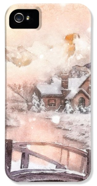 Frosty Creek IPhone 5 Case by Mo T