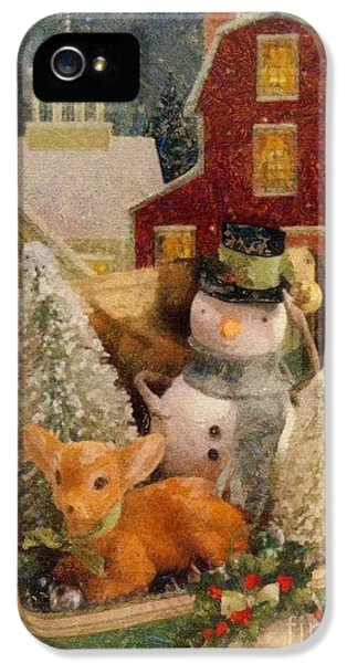Frosty The Snowman IPhone 5 Case by Mo T