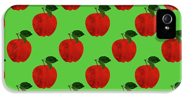 Fruit 02_apple_pattern IPhone 5 Case