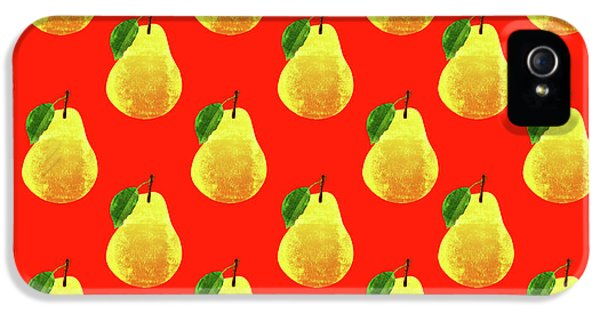 Fruit 03_pear_pattern IPhone 5 Case