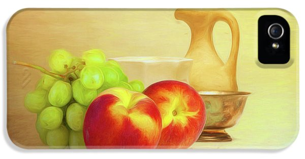 Fruit And Dishware Still Life IPhone 5 Case