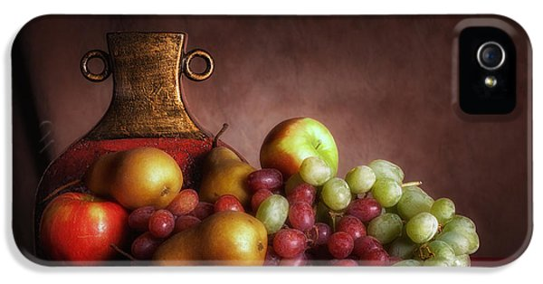Fruit With Vase IPhone 5 Case by Tom Mc Nemar