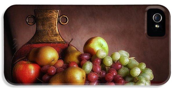 Fruit With Vase IPhone 5 Case by Tom Mc Nemar