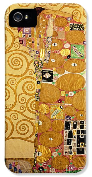 Fulfilment Stoclet Frieze IPhone 5 Case by Gustav Klimt