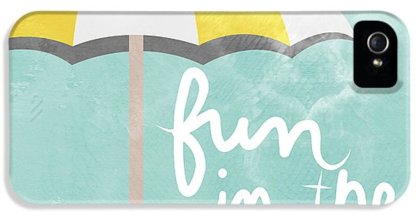 Fun In The Sun IPhone 5 Case by Linda Woods