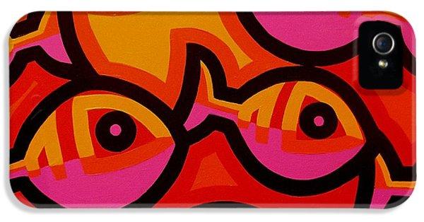 Funky Fish Iv IPhone 5 Case by John  Nolan
