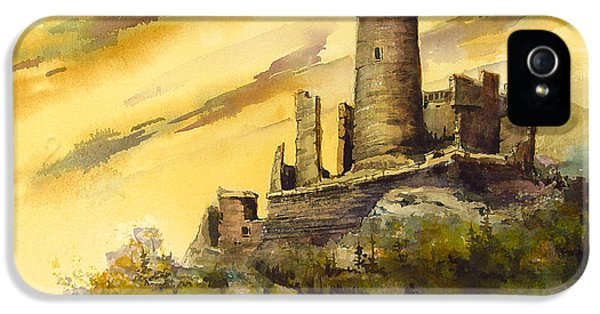 Castle iPhone 5 Case - Furstenburg On The Rhine by Sam Sidders