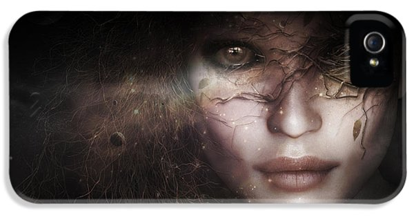 Gaia Goddess IPhone 5 Case by Shanina Conway