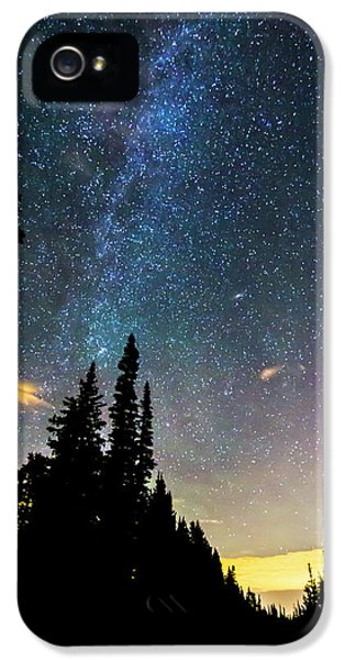 IPhone 5 Case featuring the photograph  Galaxy Rising by James BO Insogna