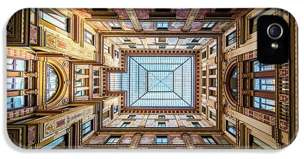Galleria Ceiling IPhone 5 Case by Inge Johnsson