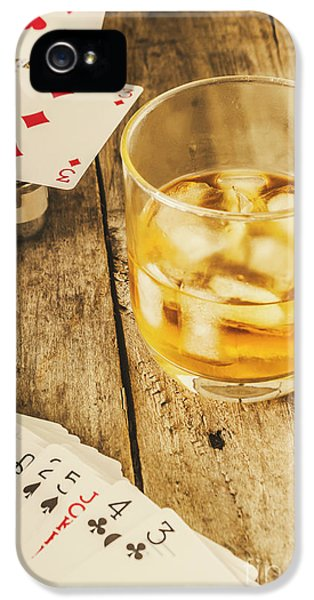 Gamblers Still Life IPhone 5 Case by Jorgo Photography - Wall Art Gallery