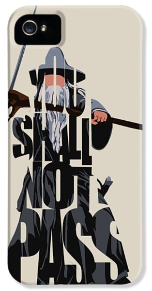Gandalf - The Lord Of The Rings IPhone 5 Case