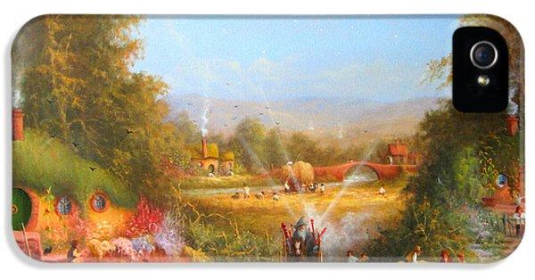 Gandalf's Return Fireworks In The Shire. IPhone 5 / 5s Case by Joe  Gilronan
