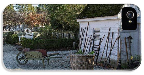 Garden Tools IPhone 5 Case by Teresa Mucha