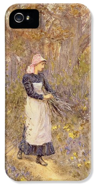 Gathering Wood For Mother IPhone 5 Case
