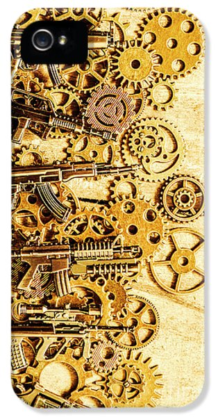 Gearing For War IPhone 5 Case by Jorgo Photography - Wall Art Gallery
