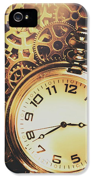 Gears Of Time Travel IPhone 5 Case by Jorgo Photography - Wall Art Gallery