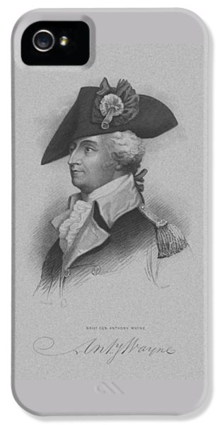 General Anthony Wayne IPhone 5 Case by War Is Hell Store