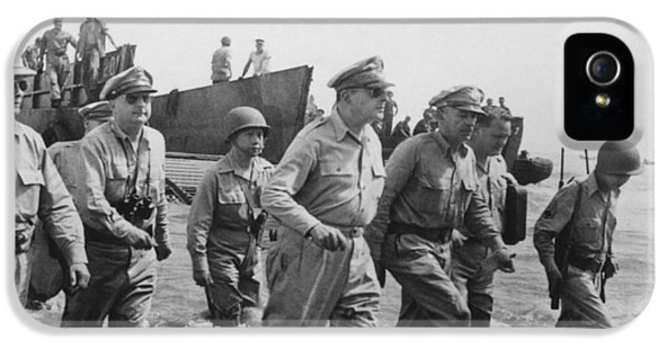 General Douglas Macarthur Returns IPhone 5 Case by War Is Hell Store
