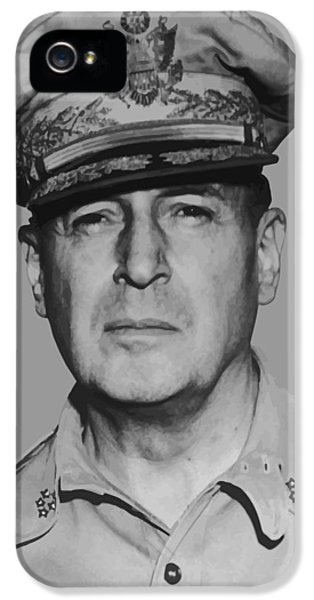 General Douglas Macarthur IPhone 5 Case by War Is Hell Store