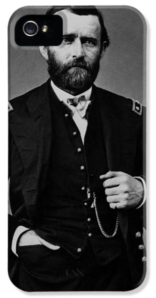 General Grant During The Civil War IPhone 5 Case