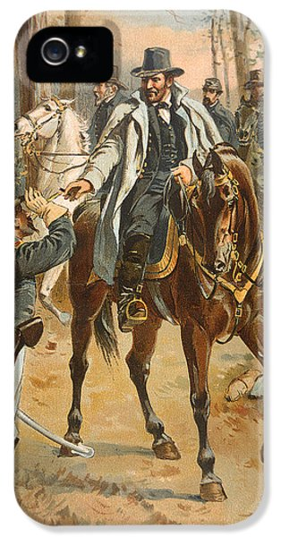 General Grant In The Wilderness Campaign 5th May 1864 IPhone 5 Case