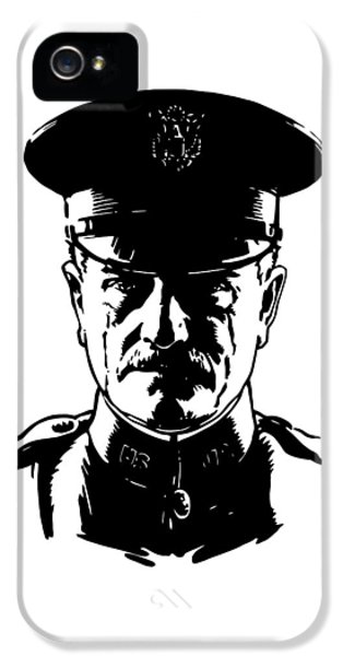 General John Pershing IPhone 5 Case by War Is Hell Store