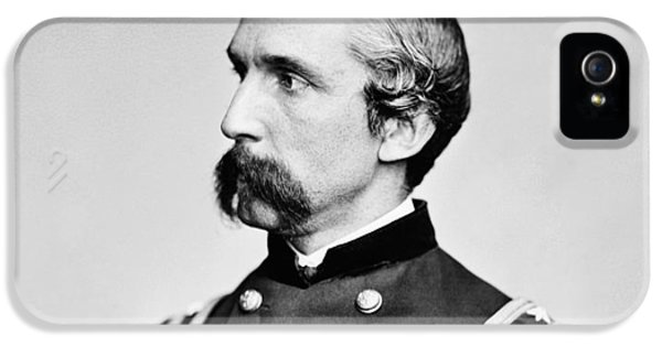 Gettysburg iPhone 5 Case - General Joshua Chamberlain  by War Is Hell Store