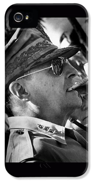 General Macarthur IPhone 5 Case by War Is Hell Store