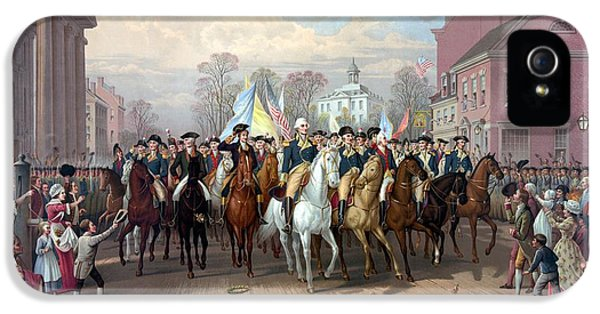 General Washington Enters New York IPhone 5 / 5s Case by War Is Hell Store