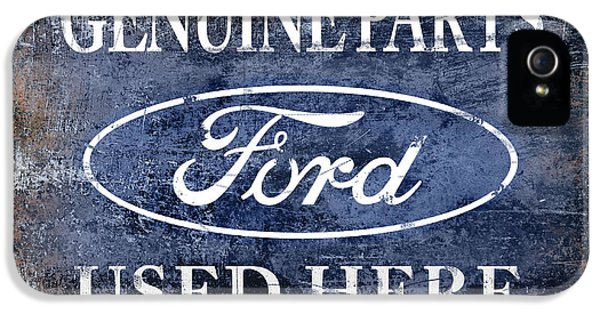 Genuine Ford Parts IPhone 5 Case