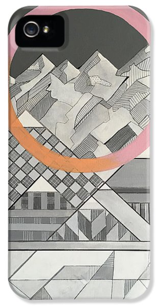 Geometry's Mountain IPhone 5 / 5s Case by Sara Cannon