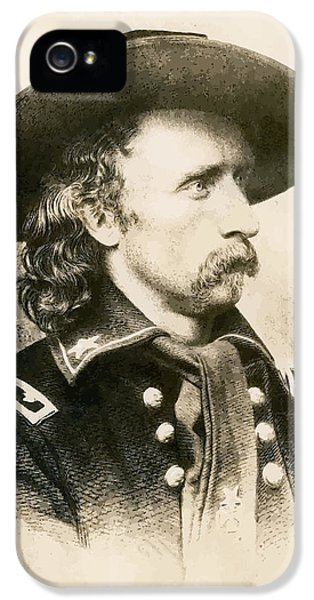 George Armstrong Custer  IPhone 5 Case