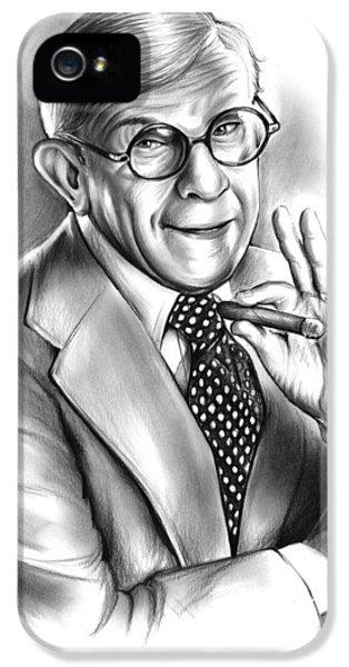 George Burns IPhone 5 Case