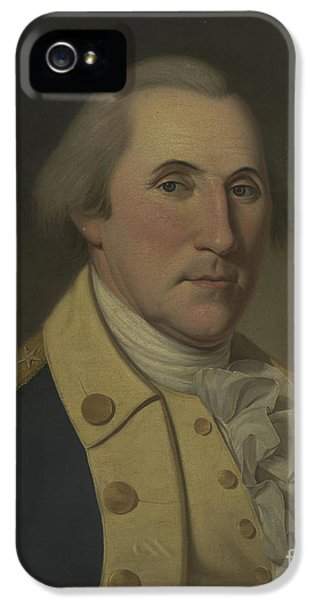 George Washington, 1788 IPhone 5 Case by Charles Willson Peale