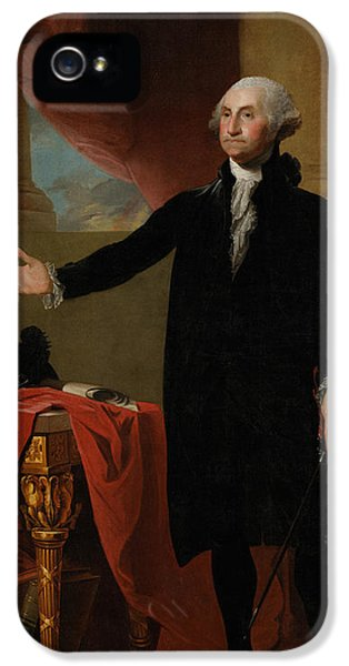 George Washington Lansdowne Portrait IPhone 5 Case