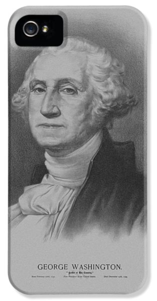 Continental iPhone 5 Cases - George Washington iPhone 5 Case by War Is Hell Store