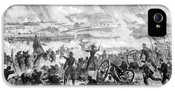 Gettysburg iPhone 5 Case - Gettysburg Battle Scene by War Is Hell Store