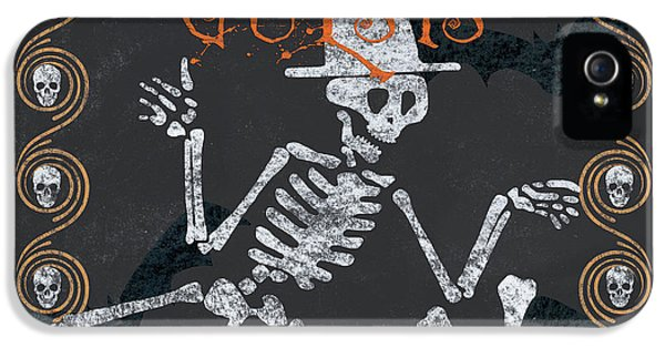 Ghoulish Guests Welcome IPhone 5 Case