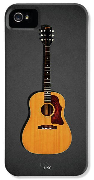 Guitar iPhone 5 Case - Gibson J-50 1967 by Mark Rogan