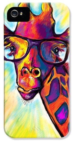 Giraffe IPhone 5 / 5s Case by Julianne Black