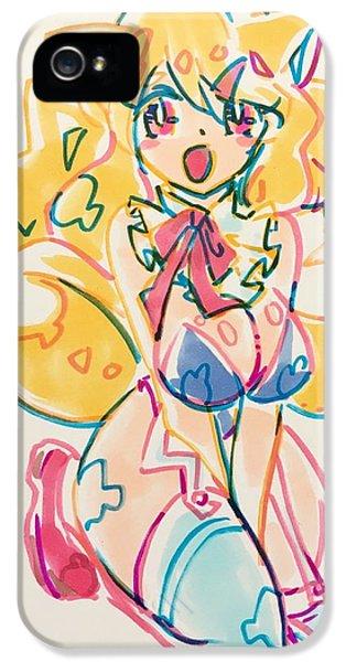 iPhone 5 Case - Girl03 by Kirin Yotsuya