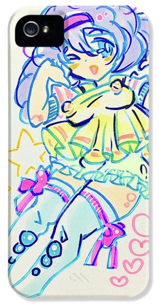 iPhone 5 Case - Girl04 by Kirin Yotsuya
