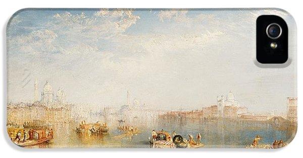 Boat iPhone 5 Case - Giudecca La Donna Della Salute And San Giorgio  by Joseph Mallord William Turner