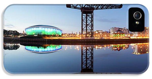Glasgow Skyline Panorama IPhone 5 Case by John Farnan
