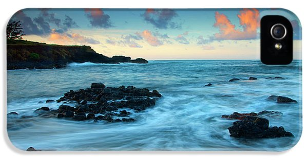 Glass iPhone 5 Cases - Glass Beach Dawn iPhone 5 Case by Mike  Dawson