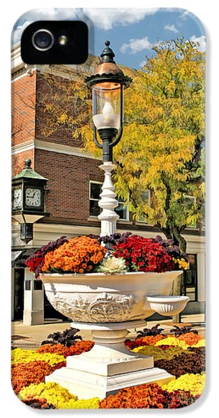 IPhone 5 Case featuring the painting Glen Ellyn Watering Trough by Christopher Arndt