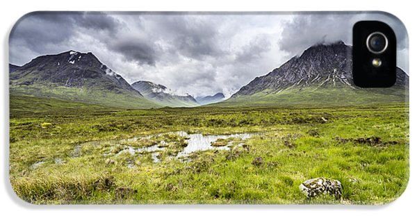 IPhone 5 Case featuring the photograph Glencoe by Jeremy Lavender Photography