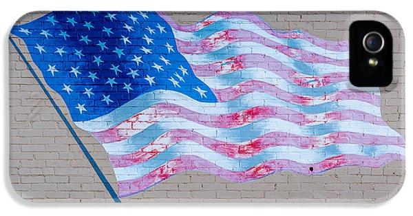 God Bless America IPhone 5 Case by Jon Manjeot